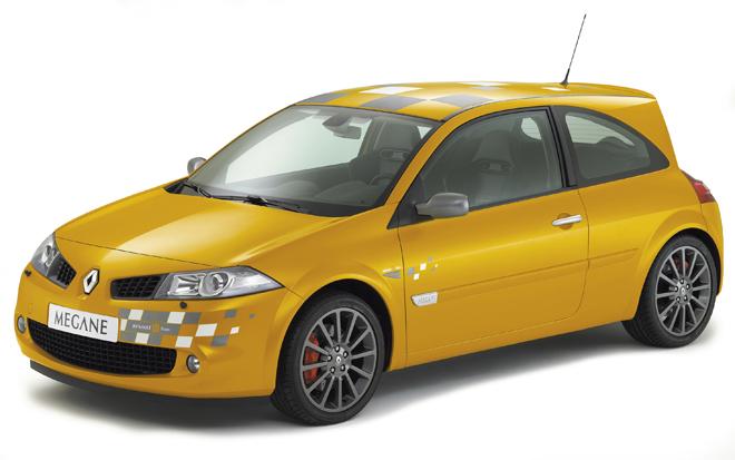 Renault Megane F1 Team R26 — Fotos y diagramas de motor y amortiguación