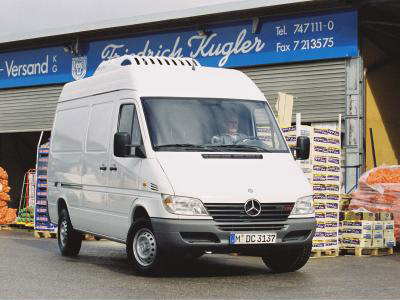 Mercedes Benz Sprinter ahora con ECO-Start