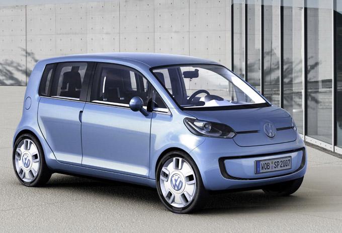 Nuevo Volkswagen Space Up! Concept – Presentado en el salón de Tokio