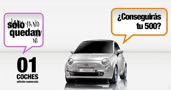 Fiat 500 – Agotado en 9 horas