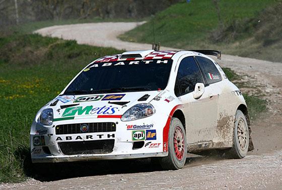 Fiat Grande Punto Abarth Rally