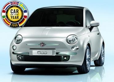 Fiat 500 – Auto del año 2008