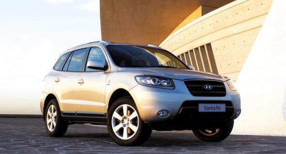 Hyundai Santa Fe – Máximo Galardón en Seguridad