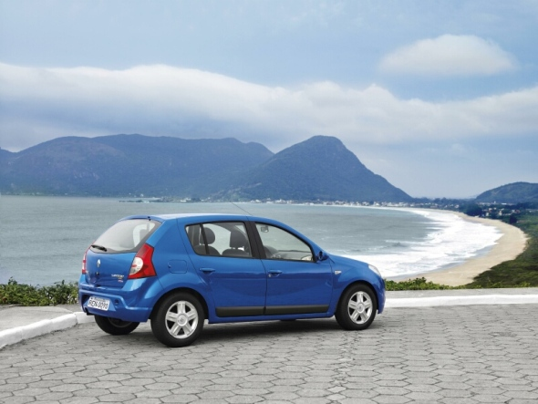 Nuevo Renault Sandero – Llegará en el 2008