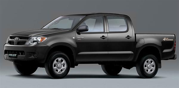Toyota Hilux 2008 – con nuevos upgrades