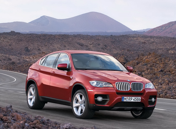 BMW X6, estreno