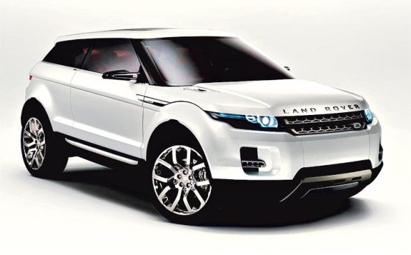 Land Rover LRX Coupe Crossover
