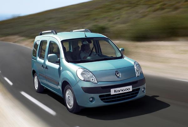 Nueva Renault Kangoo 2008 – comfort y practicidad