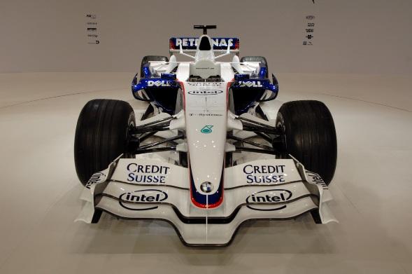 BMW Formula 1 Sauber 2008, salida oficial del F1.08