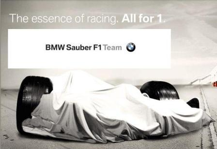 BMW Sauber F1 2008, presenta el nuevo F1.08