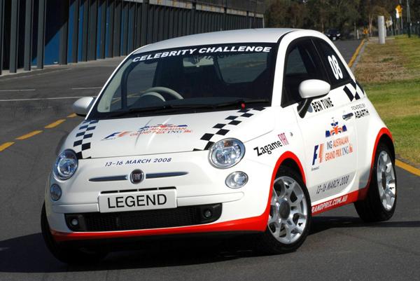 Fiat 500 en Australia F1 2008
