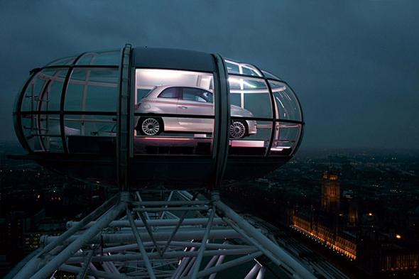 Fiat 500 – por los aires de Londres