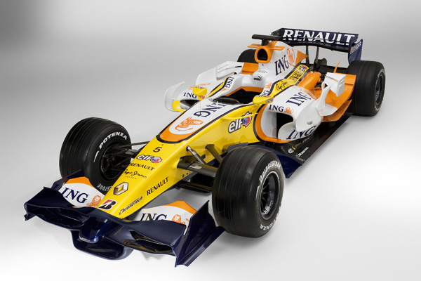 Renault Formula 1 2008, presentan el R28