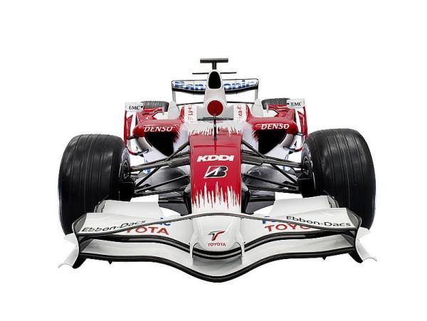 Toyota F1 2008, el TF108
