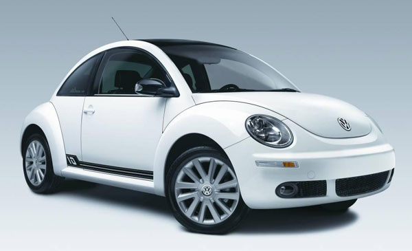 Volkswagen Beetle 10 años