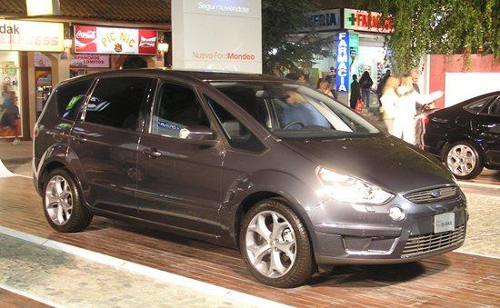 Ford S-Max – Especificaciones técnicas