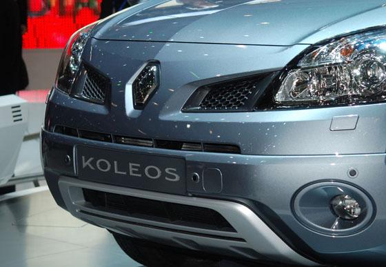 Renault Koleos, Salón de Ginebra 2008