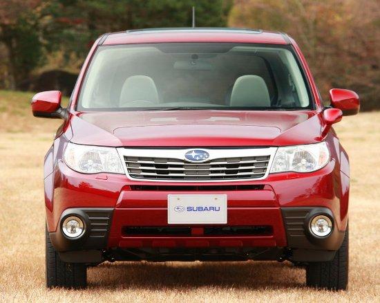 Subaru Forester, primicia