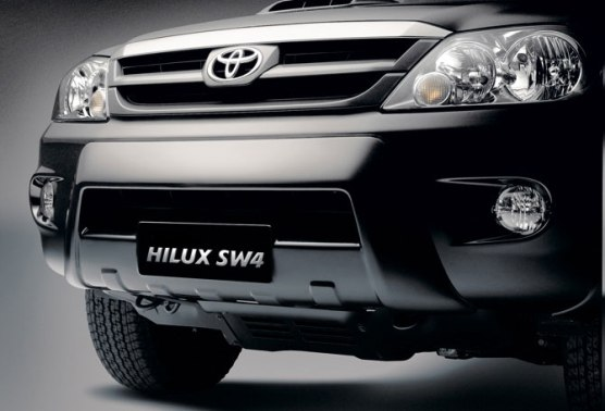 Nueva Toyota Hilux SW4