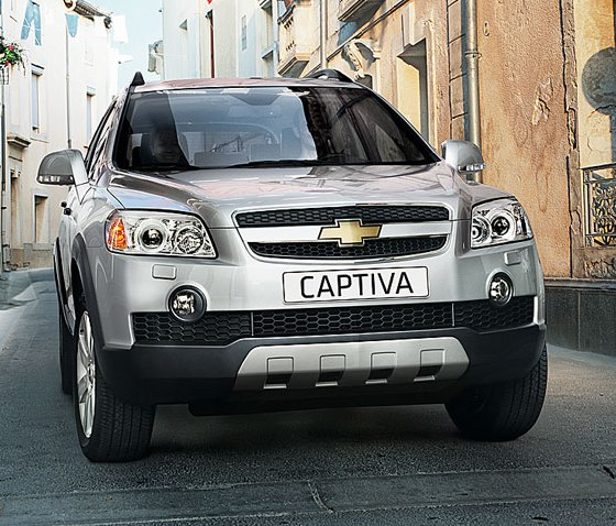 Chevrolet Captiva 2.4LT Naftera – Lanzamiento oficial