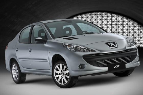 Peugeot 207 Passion – Sedán