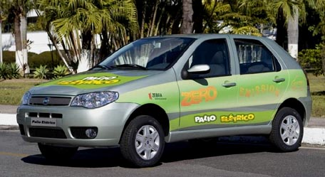 Fiat Brasil producirá el Palio Eléctrico