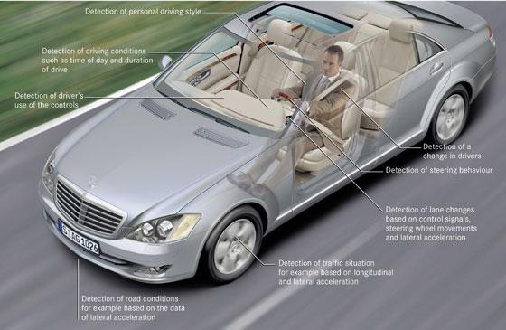 Attention Assit;  para su seguridad al volante