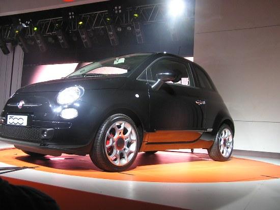 Lanzamiento del Fiat 500
