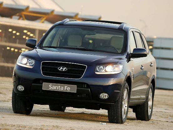 Hyundai Santa Fe V6 Siete asientos