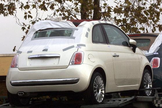 Fiat 500 C, Cabrio