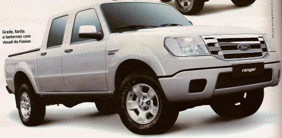 Nueva Ford Ranger Max 2009