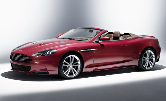 Aston Martin DBS Volante with 510HP V12