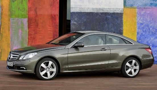 Mercedes benz clase e coupe