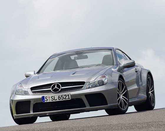 Mercedes Benz SL 65 AMG Black Series