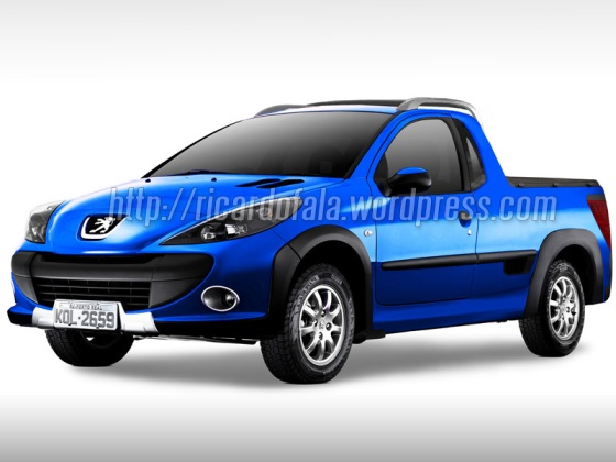 Peugeot 207 Compact Pick Up