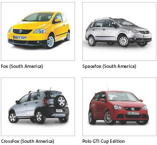 Volkswagen, todos los modelos