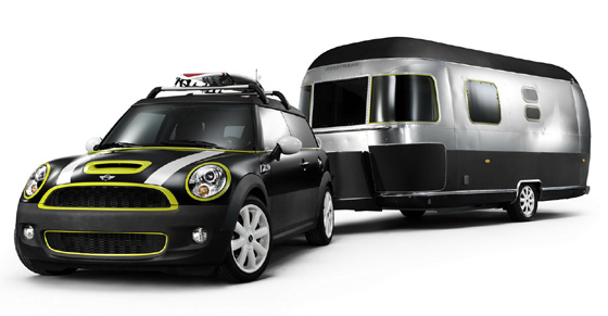 MINI Clubman con Airstream Trailer Concept