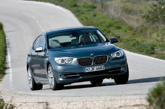BMW 5-series GT 2010
