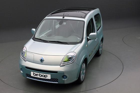 Renault Kangoo be bop Z.E. eléctrica