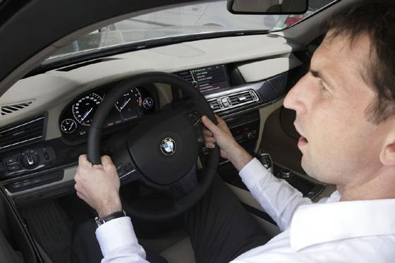 BMW Nuevo sistema de control por voz