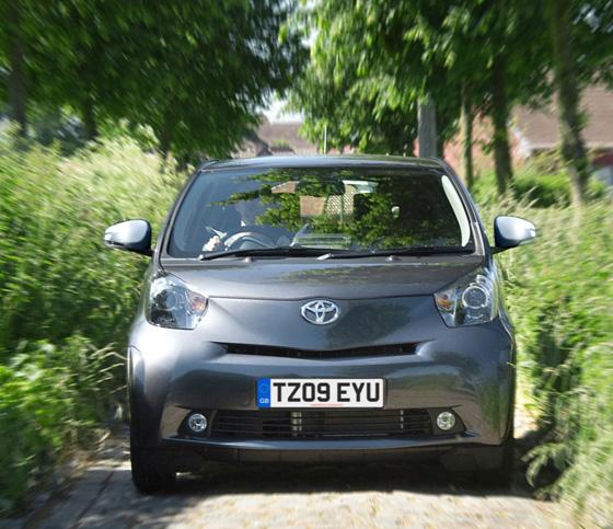 Toyota iQ3 (iQ al cubo) para UK
