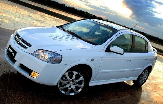 Nuevo Chevrolet Astra para Brasil