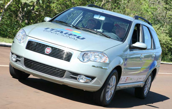 Fiat Palio Weekend Electrico