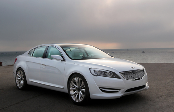 Kia VG concept car a producción