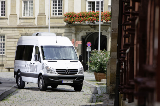 "Mercedes-Benz Sprinter: ""emission-free"""