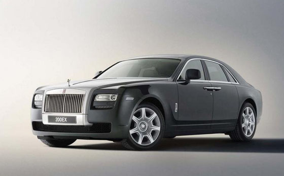 Rolls-Royce Ghost 2010 – 563HP