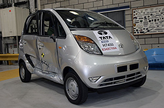 Tata Nano, Crash test