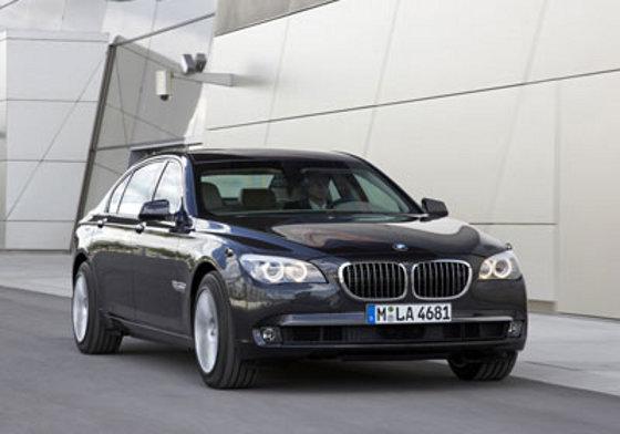 BMW Serie 7 2010 High Security
