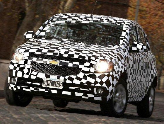 Chevrolet Agile, primeras fotos oficiales