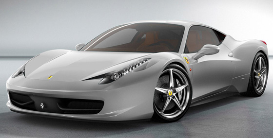 Ferrari 458 Italia video con detalles